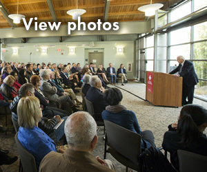 2016 Ellsworth Lecture photos