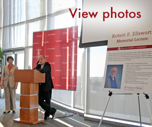 The Inaugural Robert F. Ellsworth Memorial Lecture