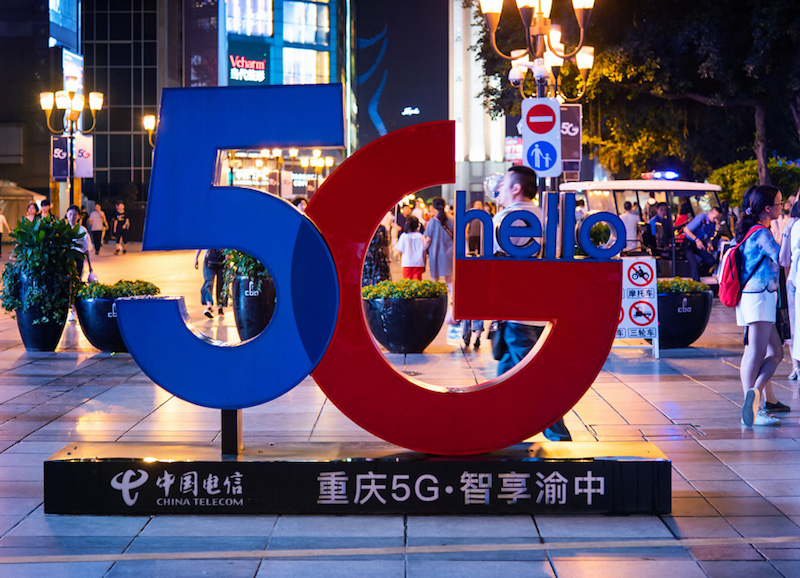 5G Sign; Credit: APCO Worldwide